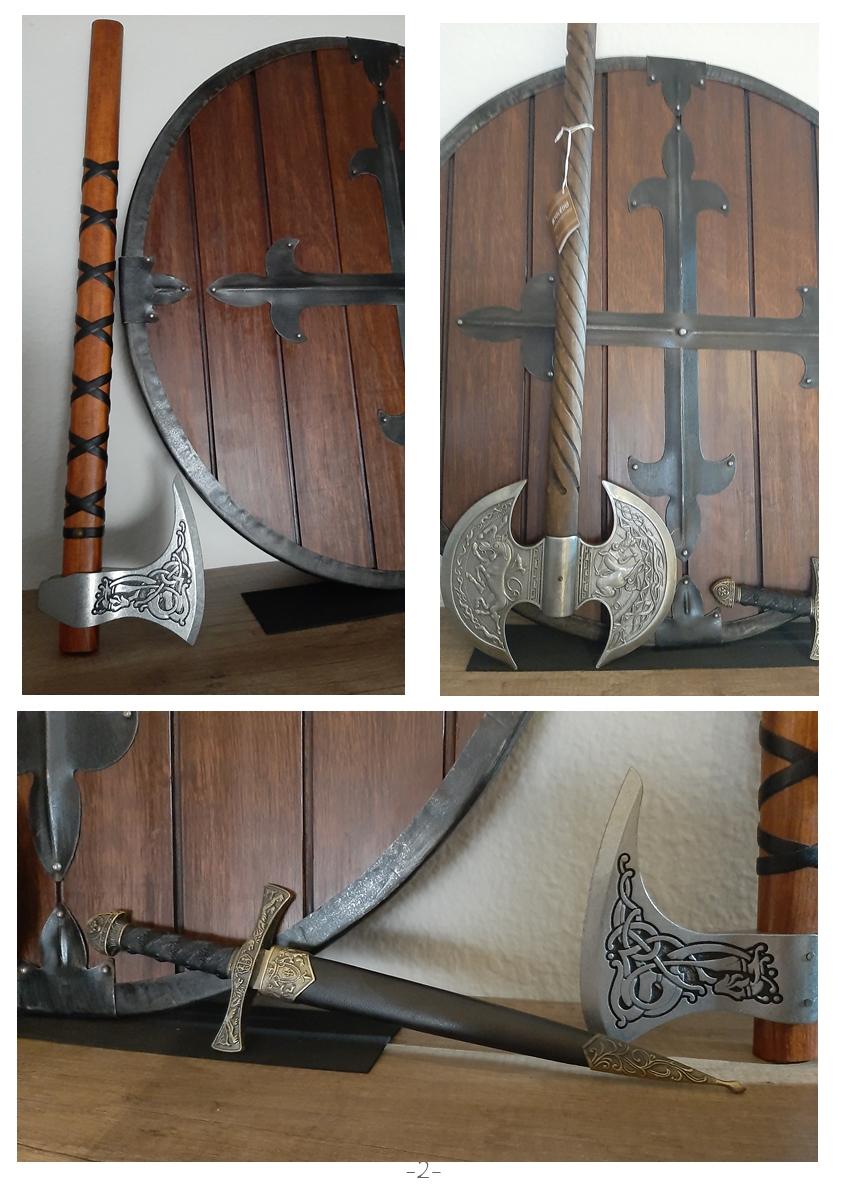 Colección de armas vikingas Mv210