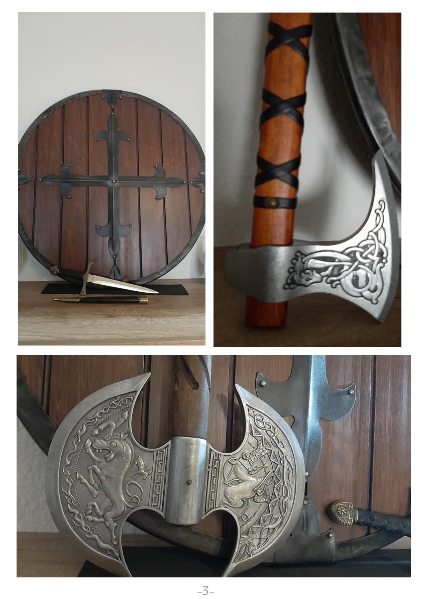 Colección de armas vikingas Mv310