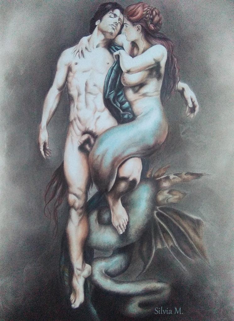 Mi lazo con el dibujo. Siren11