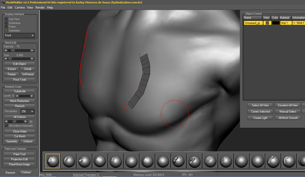 More faster in sculpt process Develo10
