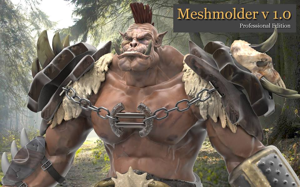 Meshmolder 1.0 - Freeware Version is Release Orc10
