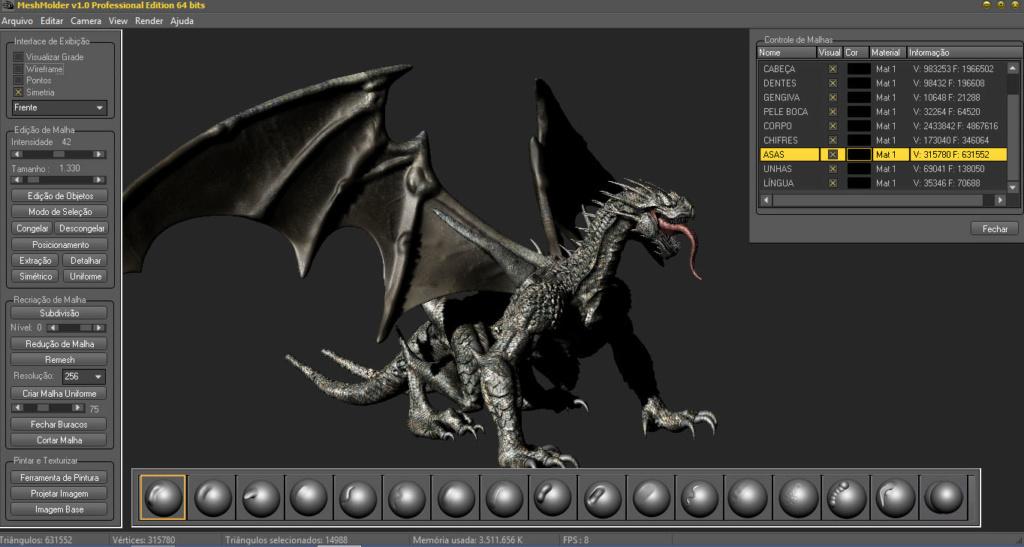 Meshmolder 1.0 - Freeware Version is Release Screen11