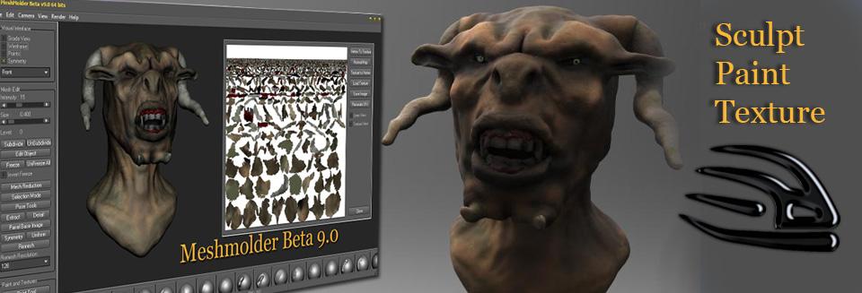 Meshmolder Beta 9.0 in development!! Simple10
