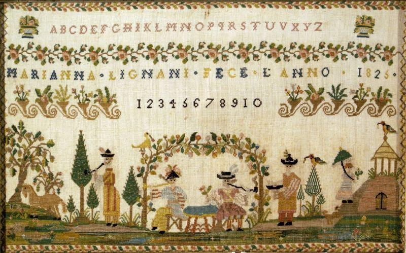 Maria Lignani 1826 de The Essamplaire Origin16