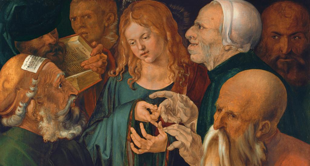 """""""Le langage des mains"""" Jesus-10"""