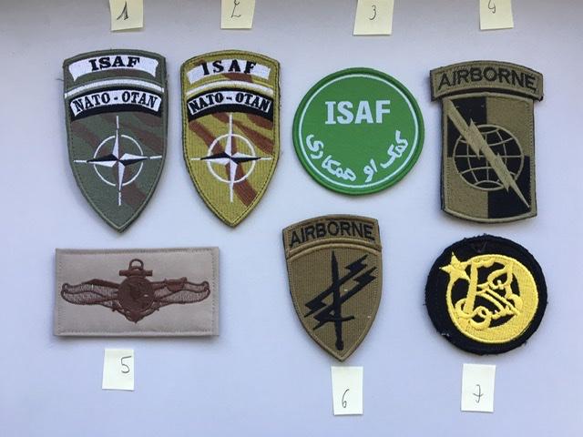 Divers patchs FR US.. Afghanistan et opérations extérieures photos refaites Bedca510