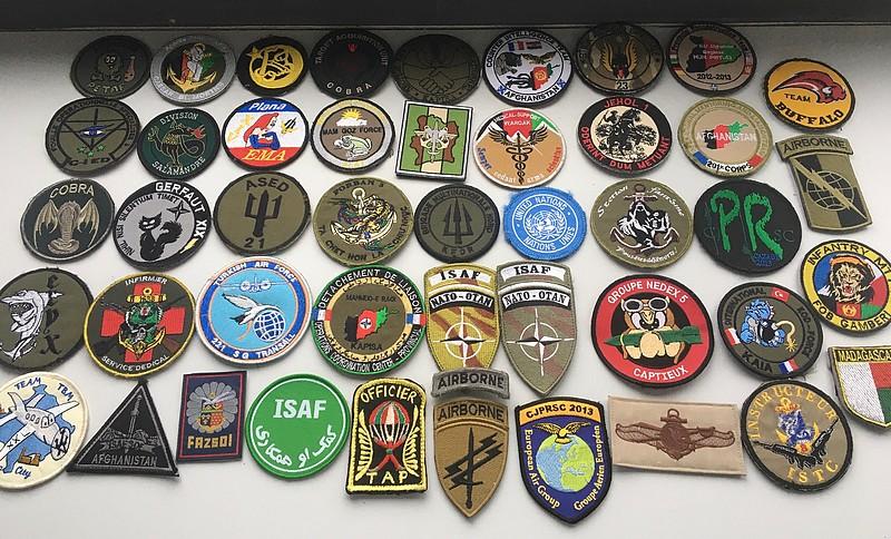 Divers patchs FR US.. Afghanistan et opérations extérieures photos refaites Patch110