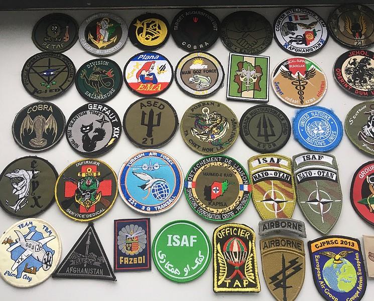 Divers patchs FR US.. Afghanistan et opérations extérieures photos refaites Patch210
