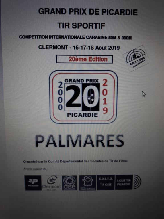 resultats grand prix de picardie  20190810