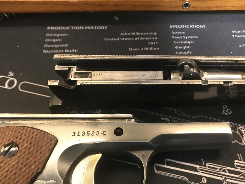 WTS Clark Custom Long Heavy Slide 1967 Colt 1911 .45 $1700 shipped. 02f32f10
