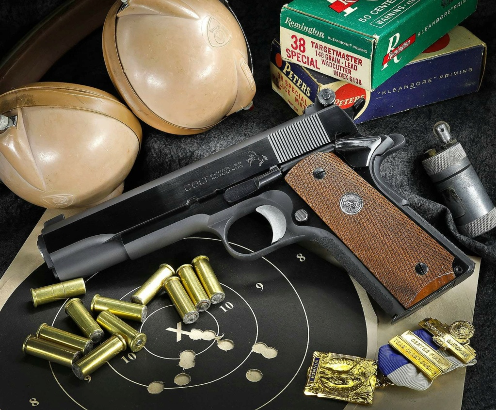 SOLD Derr Precision/Giles 1953 Commercial Colt .38 Special 1911 $2100 shipped 5d2b0210