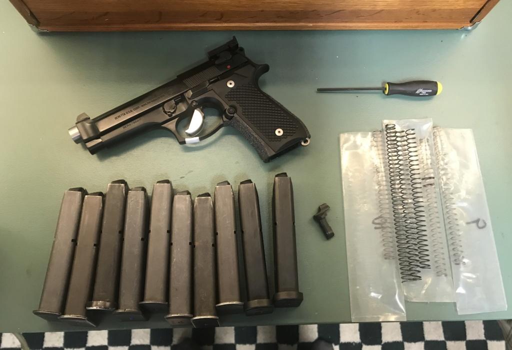 WTS MCP Beretta brigadier 9mm $1800 shipped. 67982310