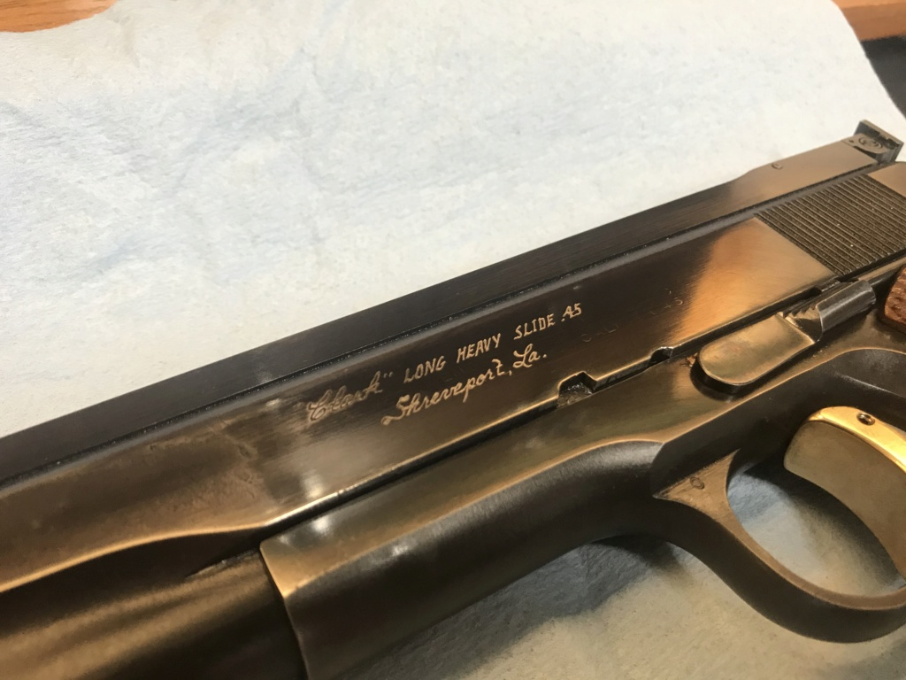 WTS Clark Custom Long Heavy Slide 1967 Colt 1911 .45 $1700 shipped. 8a355010