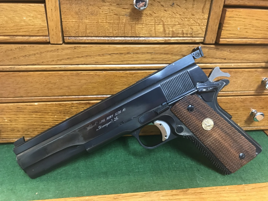 SPF Clark Custom Long Heavy Slide 1967 Colt 1911 .45 $1550 shipped. 8bc74e10