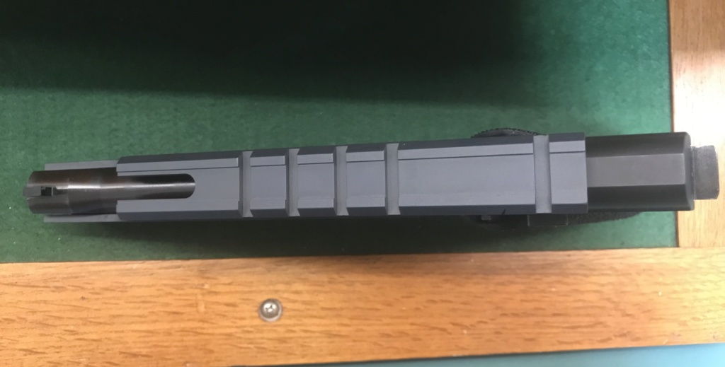 **Sold**Hammerli 215 w/ CMM 1911 adapter and LGS scope rail $1500 shipped 90927310
