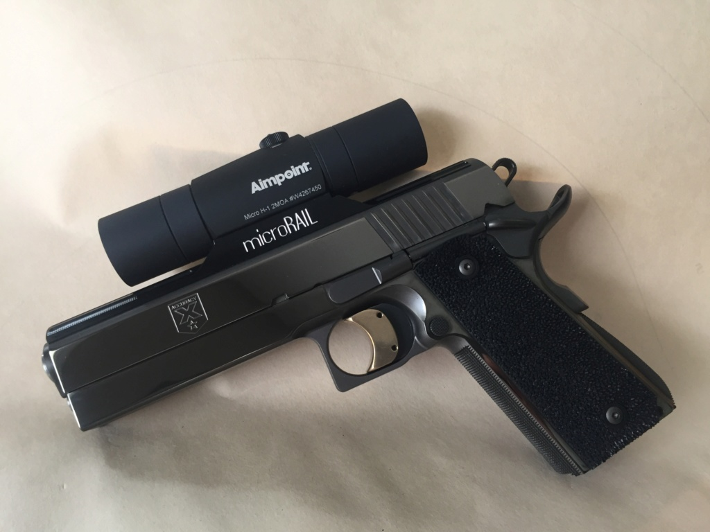 WTT perfect Aimpoint H-2 with sunshades for an H-1 with Shue tubes 90f5ce10