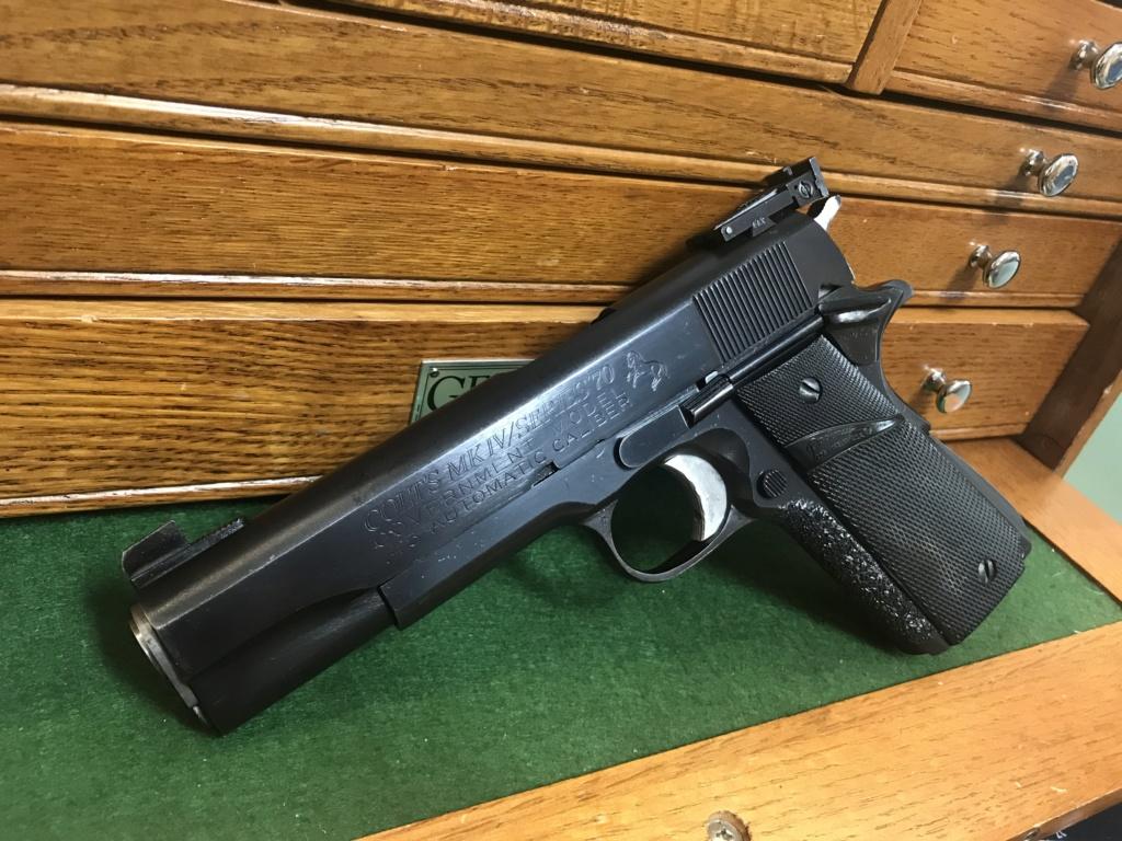 *sold* Jackie best Colt 1911 series 70 Hardball gun $1400 shipped B041e310