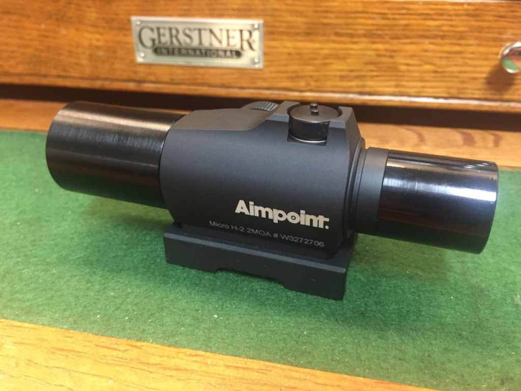WTT perfect Aimpoint H-2 with sunshades for an H-1 with Shue tubes B10bc910