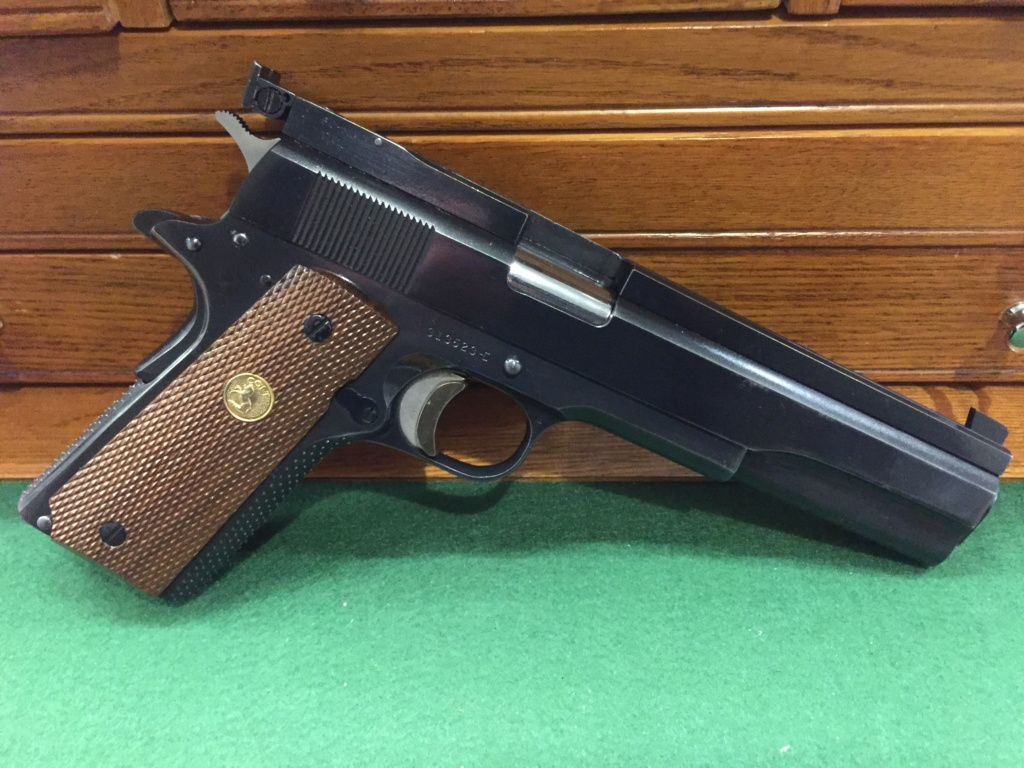 SPF Clark Custom Long Heavy Slide 1967 Colt 1911 .45 $1550 shipped. D22fae10