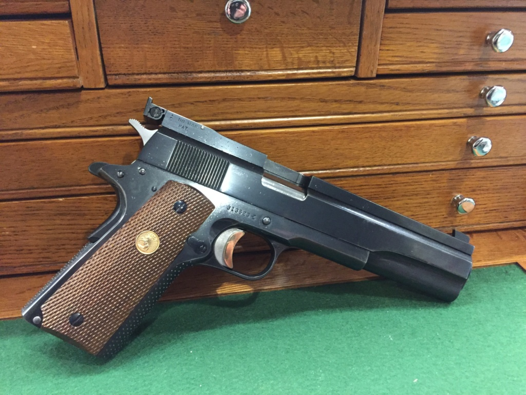 WTS Clark Custom Long Heavy Slide 1967 Colt 1911 .45 $1800 shipped. E42ffb10