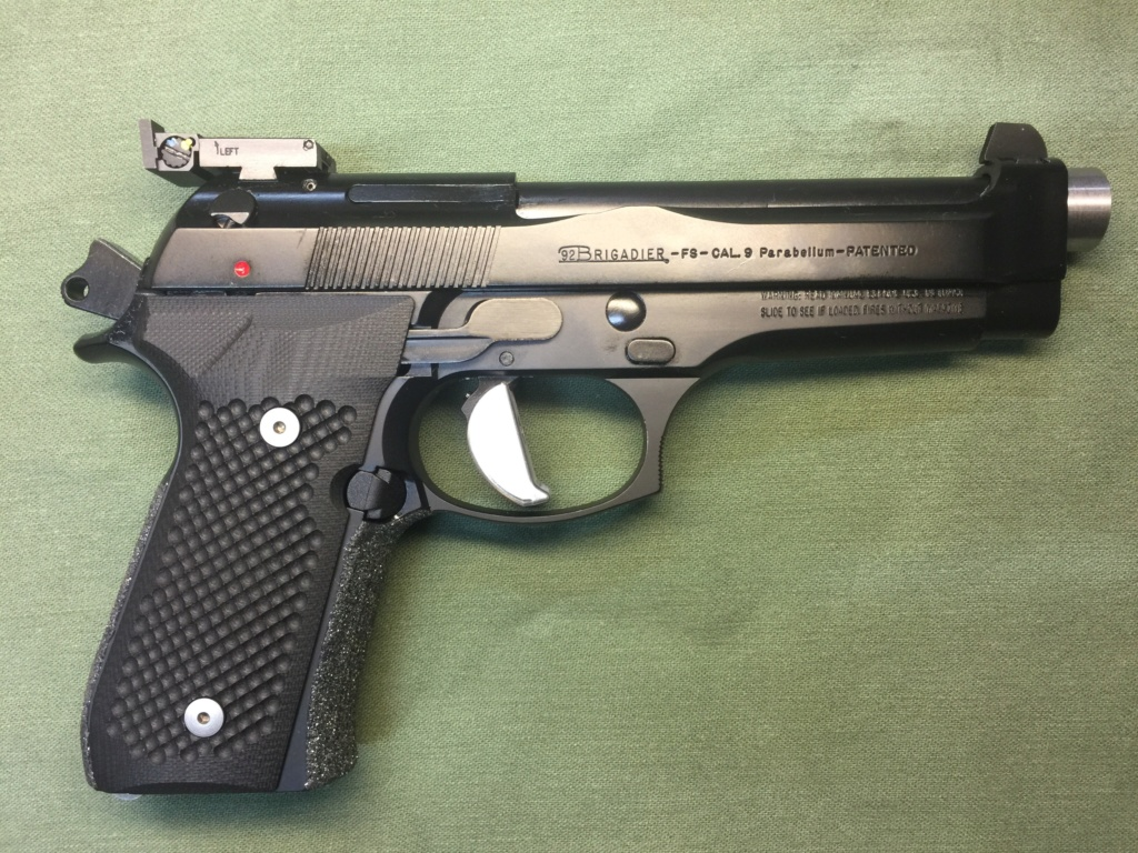 WTS MCP Beretta brigadier 9mm $1800 shipped. Img_4111