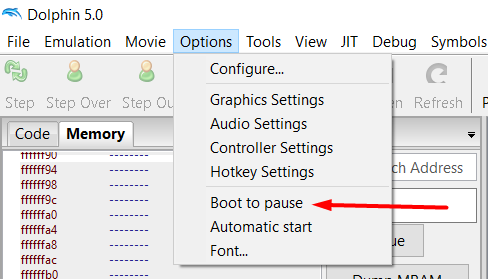 How To Re-Enable Autoplay in Dolphin Debug Mode Screen22