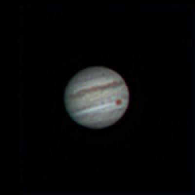 Jupiter et sa belle tache rouge Jupite11