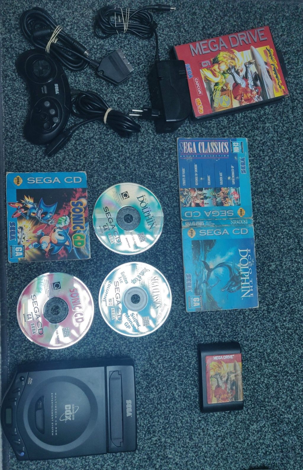 Vend CDX, Tectoy, Saturn, Dreamcast, gamegear mcwill Img_2033