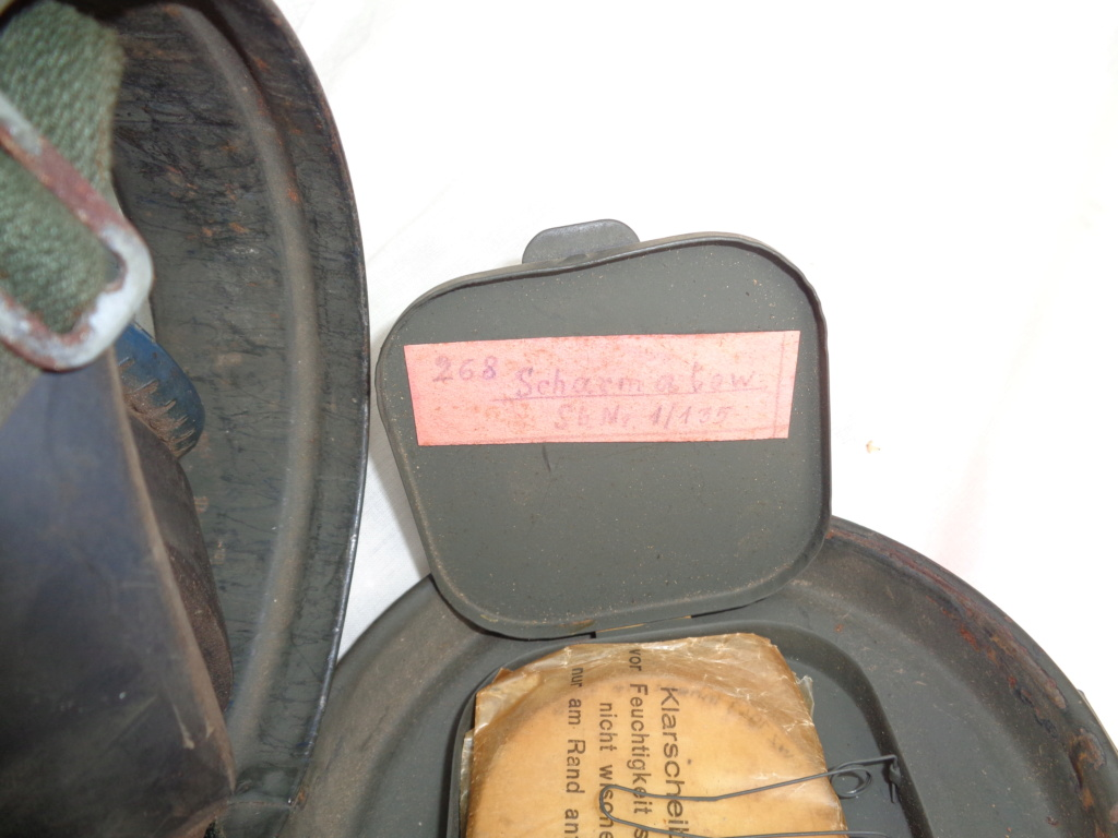 allemand sanitaire ww1 , masque a gaz ww2 Dsc00026