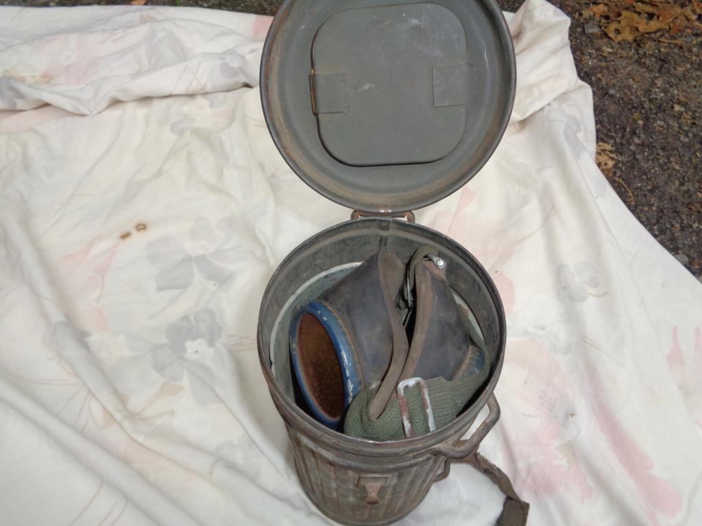 allemand sanitaire ww1 , masque a gaz ww2 Dsc00028