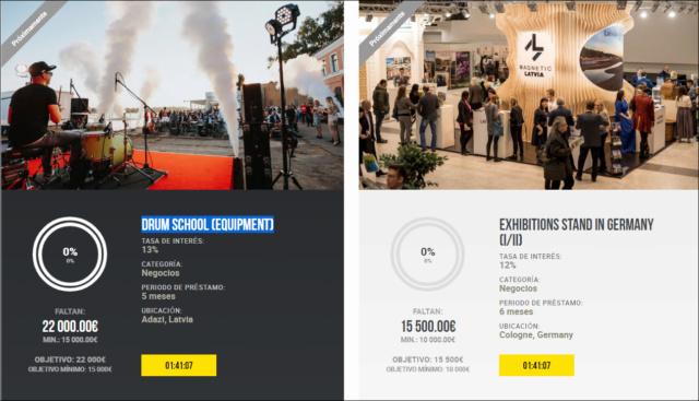 Drum School (equipment) + Exhibitions stand in Germany (I/II) ( Rent.13 y 12%) 1862