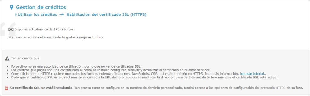 Certificado SSL aparece como no seguro la url 9999915