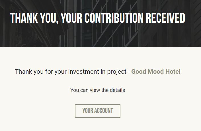 Proyecto Good Mood Hotel (Rent. 12% en 7 meses) PROYECTO CERRADO Y PAGADO A VENCIMIENTO Captu139