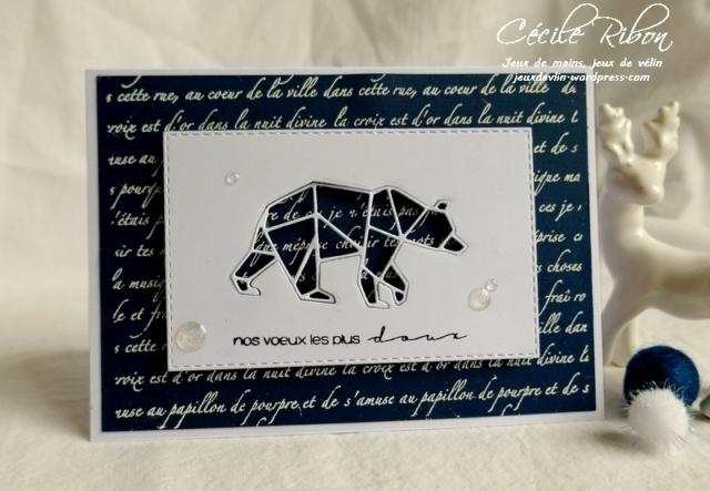 Défi de Sophfinette : Inspiration Carte124