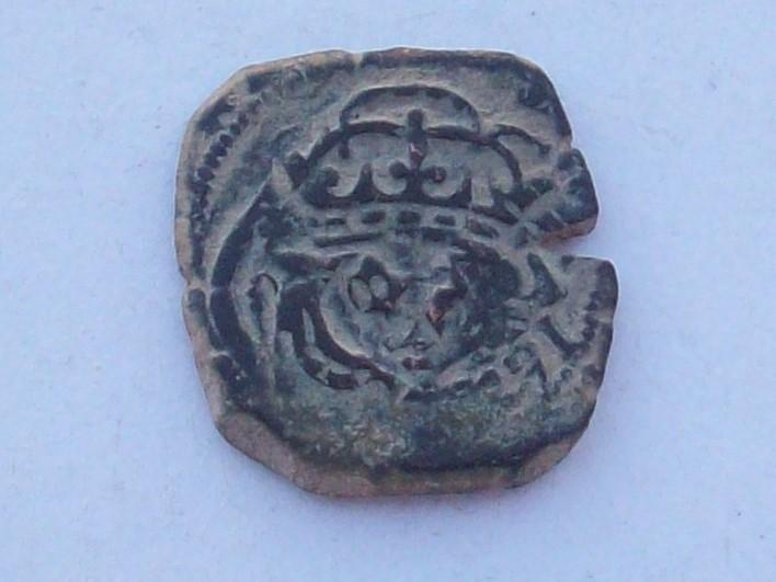 VIII maravedís de Felipe III o IV resellados. 102_4549