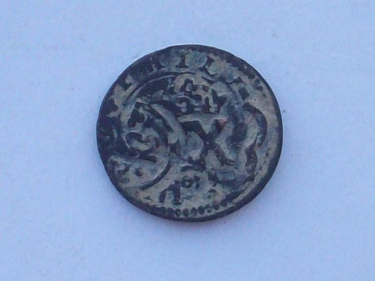 4 maravedís de Felipe III de Segovia, resellados. 102_4556