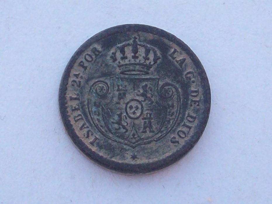 Decima de real 1853. Isabel II . Segovia  102_4559