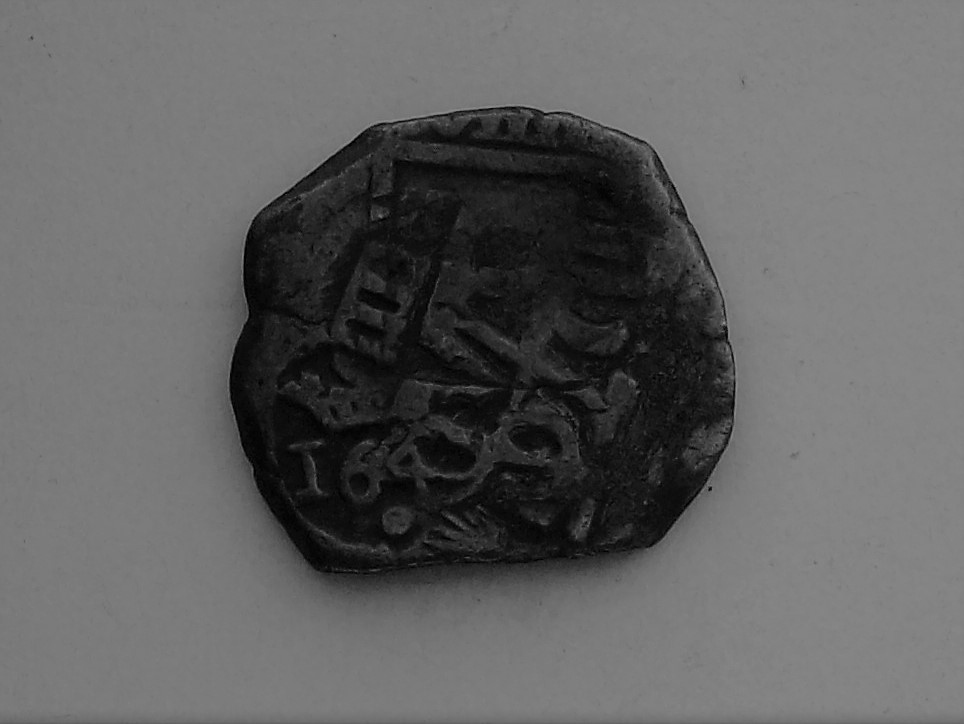 8 Maravedíes de Felipe III o IV resellados a VIII mrvs. de 1641-2 en Toledo, 8 mrvs. de 1651-2 y reacuñación de 1658-9 a IIII mrvs. 102_4567