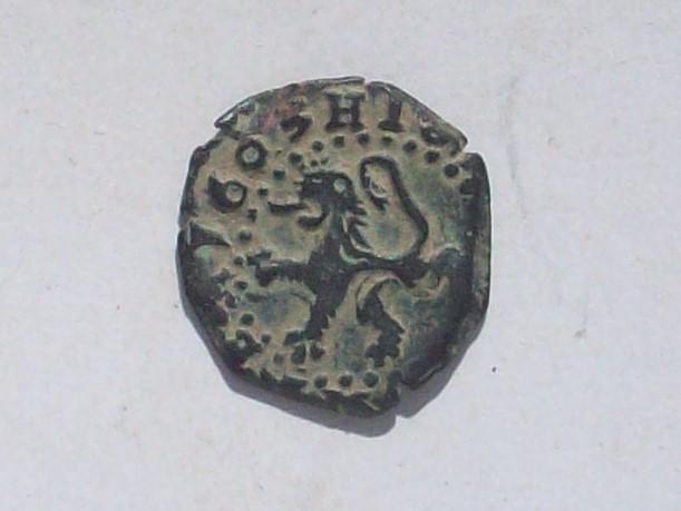 2 Maravedies de Felipe III, Burgos. 1605. 102_4580