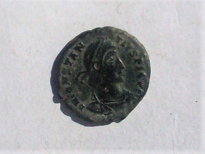 AE3 de Constancio II. FEL TEMP - REPARATIO. Soldado romano alanceando a jinete caído. Roma. 102_4635
