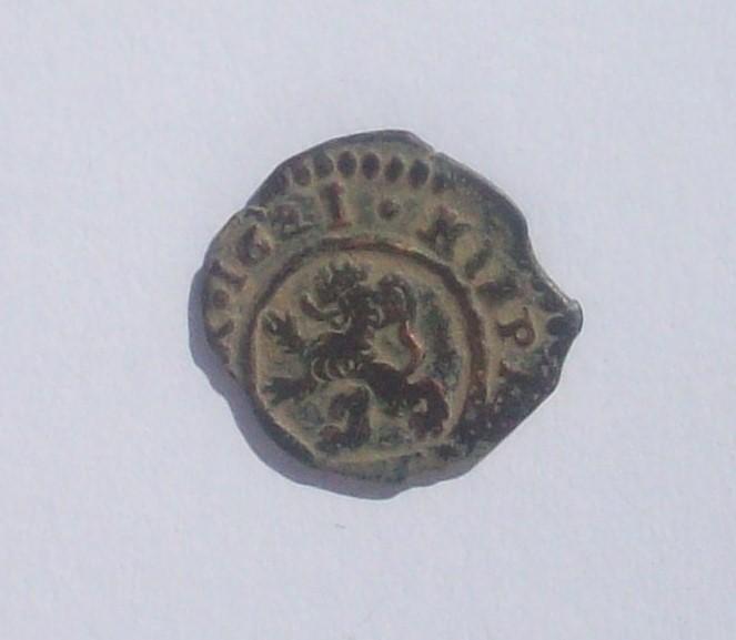 4 Maravedis de Felipe IV, 1621, Madrid. 102_4814
