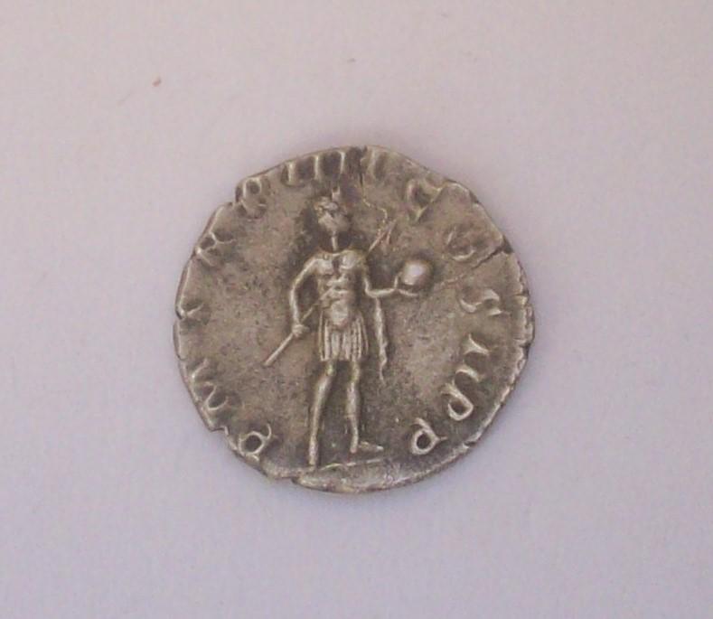 Siliqua engendro. Constancio II de anv. y Gordiano III de rev. Falsificación 102_4821