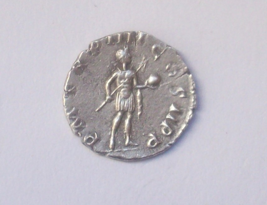 Siliqua engendro. Constancio II de anv. y Gordiano III de rev. Falsificación 102_4825