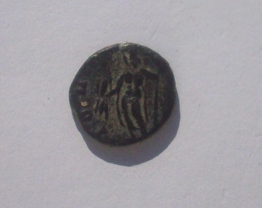 Antoniniano de imitación Hispánica de Claudio II. IOVI VICTORI. Júpiter 102_4835