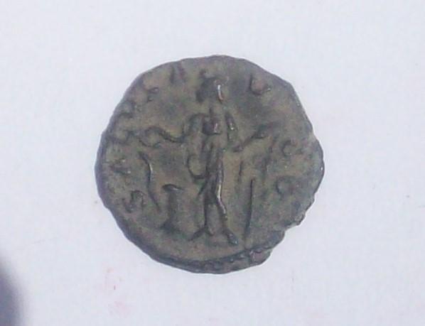 Antoniniano de Tétrico I. SALVS AVGG. Salud a izq. Trier 102_5026