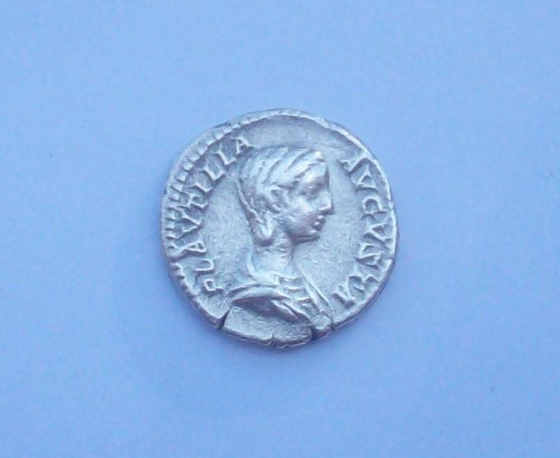 Denario de Plautila. CONCORDIA FELIX. Roma 102_5120