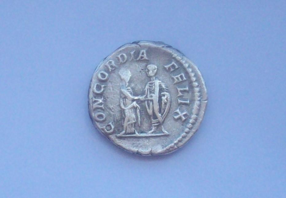 Denario de Plautila. CONCORDIA FELIX. Roma 102_5121