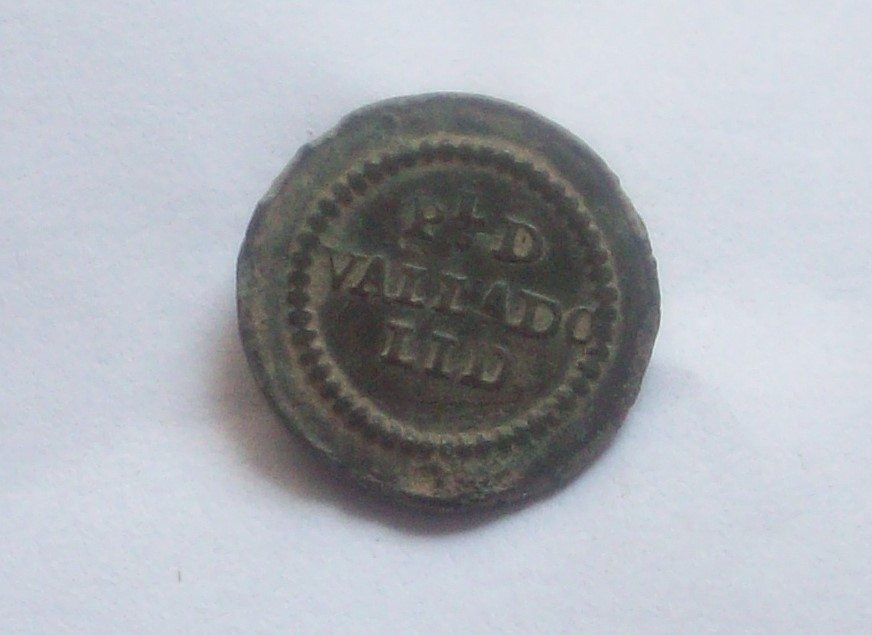 Botón de la Milicia Provincial de Valladolid 1784 - 1802 102_5136
