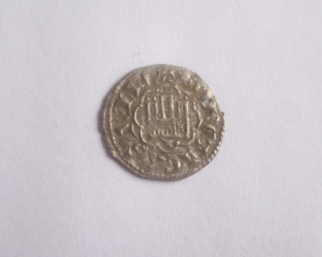 Dinero de la 2ª guerra de Granada de Alfonso X. Cuenca 102_5149