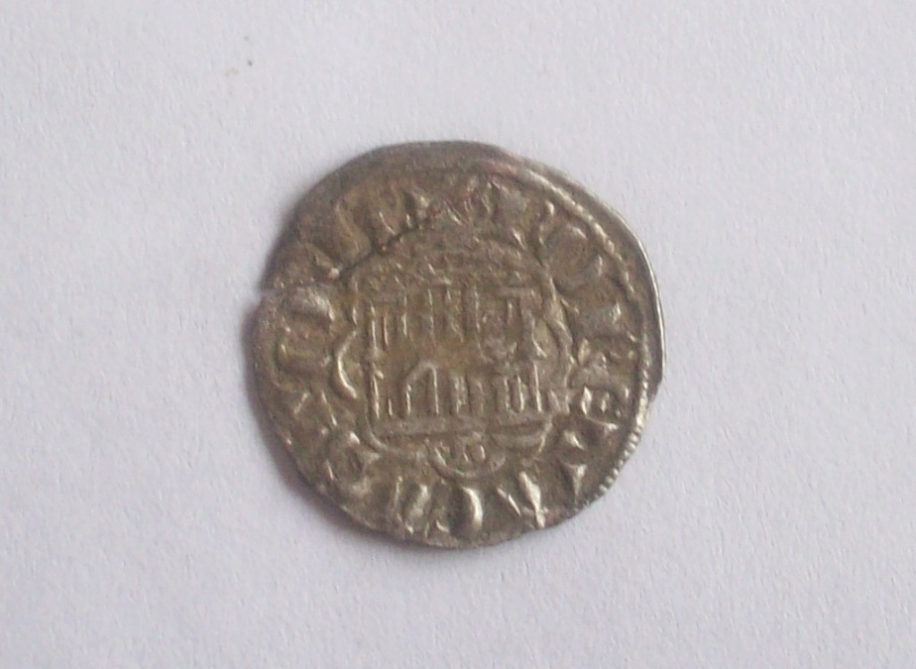 Dinero de la 2ª Guerra de Granada de Alfonso X (Burgos, 1277). 102_5161